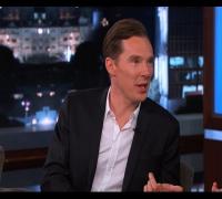 Benedict Cumberbatch on Jimmy Kimmel Live PART 1