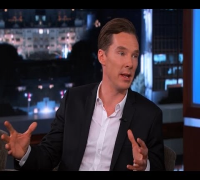 Benedict Cumberbatch on Jimmy Kimmel Live PART 2
