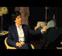 Benedict Cumberbatch on TimeShift Series 13: The Look of Sherlock (Clip)