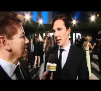 Benedict Cumberbatch starstruck at the Oscars