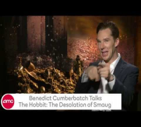 Benedict Cumberbatch Talks THE HOBBIT: THE DESOLATION OF SMAUG with AMC