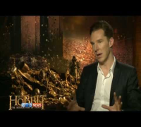 "Benedict Cumberbatch ""The Hobbit: Desolation of Smaug"" Interview #1 02.12.13"