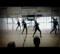 "Beyonce Knowles - ""I Was Here"" dance routine"