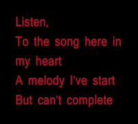 Beyonce Knowles - Listen Instrumental/Karaoke/Lyrics