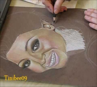 Beyoncé Knowles (Speed Drawing)