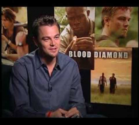 Blood Diamond Leonardo DiCaprio interview
