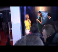 Bond girl Olga Kurylenko at European premiere of movie 'Oblivion' Dublin