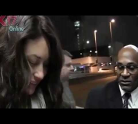 Bond Girl Olga Kurylenko At LAX