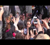 Brad Pitt & Angelina Jolie At World War Z Premiere in Paris - Full Video!!!