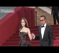 Brad Pitt   Angelina Jolie @ The Tree of Life Premiere, Cannes Film Festival 2011 | FashionTV - FTV