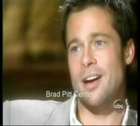 Brad Pitt talks about Angelina Jolie with Diane Sawyer