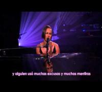 Brand new me live - Alicia Keys (subtítulos en español)