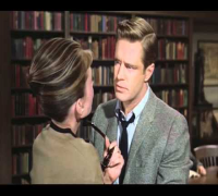 "Breakfast at Tiffany's, Paul says ""I love you"" Library Scene"