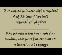 Britney Spears - Criminal - Lyrics - Traduction Français et Anglais HQ/HD