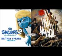 Britney Spears vs. Coldplay - Viva Ooh La La Vida (Viva La Vida vs. Ooh La La) (Mashup Mix)
