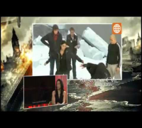 Bruno Pinasco Entrevista :Michelle Rodriguez en Español Resident Evil 5 :Venganza