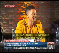 C5N - CINE:  WILL SMITH EN ARGENTINA