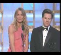 Cameron Diaz apresenta Globo de Ouro 2009
