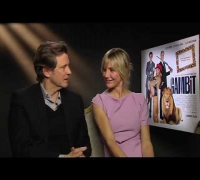 Cameron Diaz & Colin Firth Interview & Gambit Movie Trailer