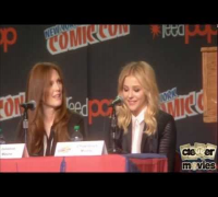 Carrie New York Comic Con Panel - Chloe Moretz, Julianne Moore