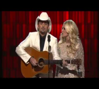 "Carrie Underwood & Brad Paisley Make Fun Of Taylor Swift ""Opening the CMA Awards 2012 show"""