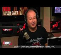 Cauet apprend une chanson en français à Taylor Swift  - C'Cauet sur NRJ