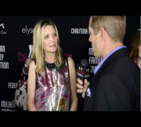 Chad Zdenek interiews Michelle Pfeiffer host of the Pink Party '12 for NewYorkFashionTimes.com