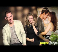 Channing Tatum & Rachel McAdams do their best chat up lines for The Vow