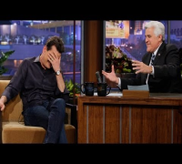 Charlie Sheen On Lindsay Lohan Rumors - The Tonight Show with Jay Leno