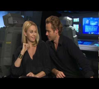 Charlize Theron & Guy Pearce talk 'Prometheus' - Celebs.com