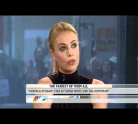 "Charlize Theron & Kristen Stewart On ""The Today Show"" Snow White Interview - March 19th"