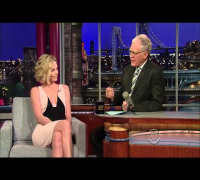 Charlize Theron on David Letterman