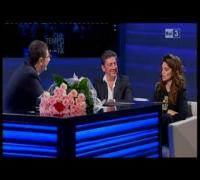 Che tempo che fa - Penelope Cruz e Sergio Castellitto 04/11/2012