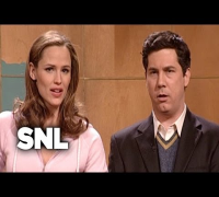 Chris Parnell Sings to Jennifer Garner - Saturday Night Live