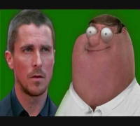 Christian Bale and Peter Griffin fight on set of Terminator Salvation