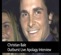 Christian Bale Interview after rant