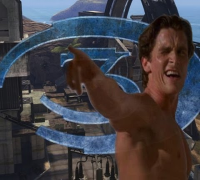 Christian Bale Plays Halo 3