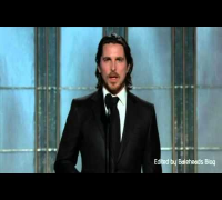 Christian Bale Presenting @ The 2013 Golden Globes