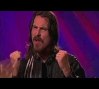 "Christian Bale sings The Powerpuff Girls theme (""remix"")"