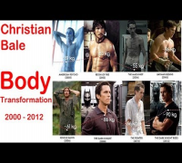 Christian Bale Transformation for Batman the Dark Knight - body transformation