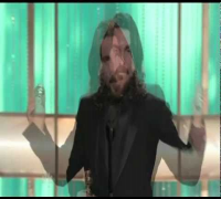 Christian Bale's Golden Globe Speech Runs Long (plus UNEDITED Robert De Niro remark)