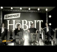 Cinemax interview with Richard Armitage, Benedict Cumberbatch, Evangeline Lilly and Luke Evans
