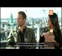 Cinescape: Entrevista Paul Walker (Rápidos y Furiosos 6) - 25/05/2013