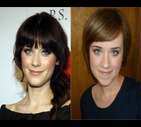 Classic Zooey Deschanel Makeup Tutorial - by Bethany