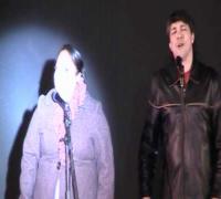 Concierto Navideño 2011: Michelle Rodríguez y Enrique Chi interpretan El Intercambio