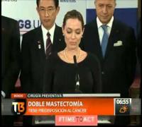 Conmocion por la doble mastectomía de Angelina Jolie (14/5/2013)