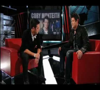 Cory Monteith 2/20 questions interview