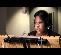 Cory Monteith & Amber Riley - Simpsons B-Roll