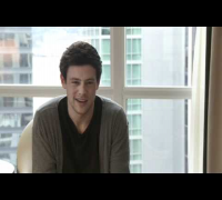 "Cory Monteith discusses ""Teaching the Life of Music"""