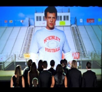 "CORY MONTEITH ""GLEE"" TRIBUTE ""THE QUARTERBACK"" LEA MICHELE SINGS ""MAKE YOU FEEL""  05X03 RECAP"